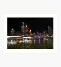 Brisbane City - Queensland, Australia Art Print