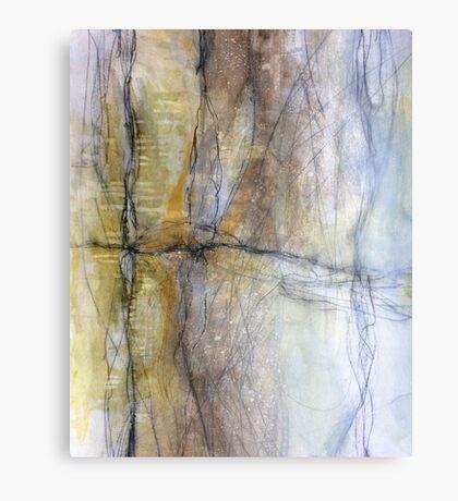 The Drifting Fall Canvas Print