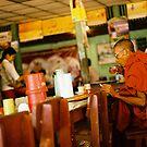 burma monk by AnaBanana