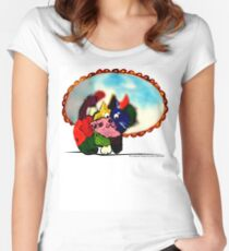 PrettyKitty Women's Fitted Scoop T-Shirt