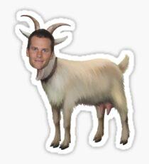 Tom Brady Goat Sticker