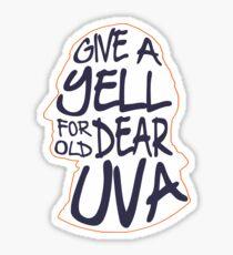 University of Virginia Good Ol' Song Sticker