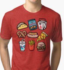Junk-Food-Typen Vintage T-Shirt