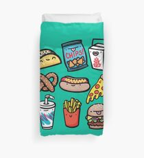 Junk Food Dudes Duvet Cover