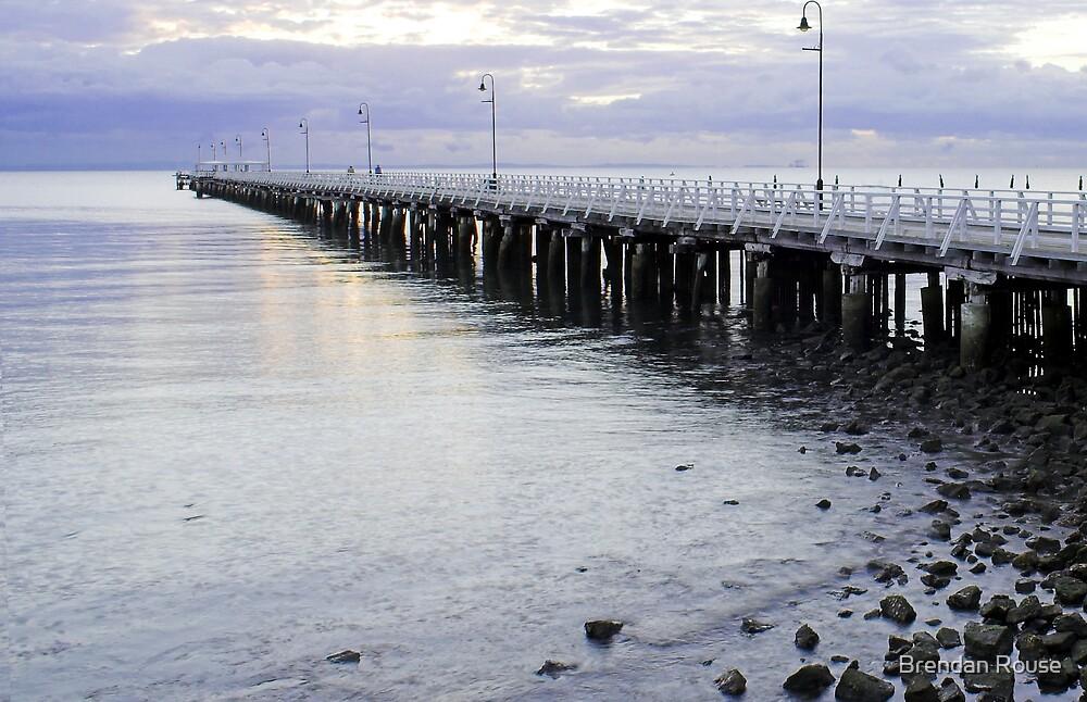 Shorncliffe Pier - Queensland, Australia by Brendan Rouse