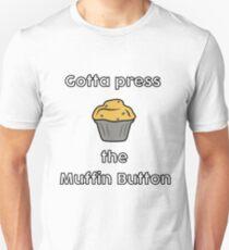 Muffin Button Unisex T-Shirt