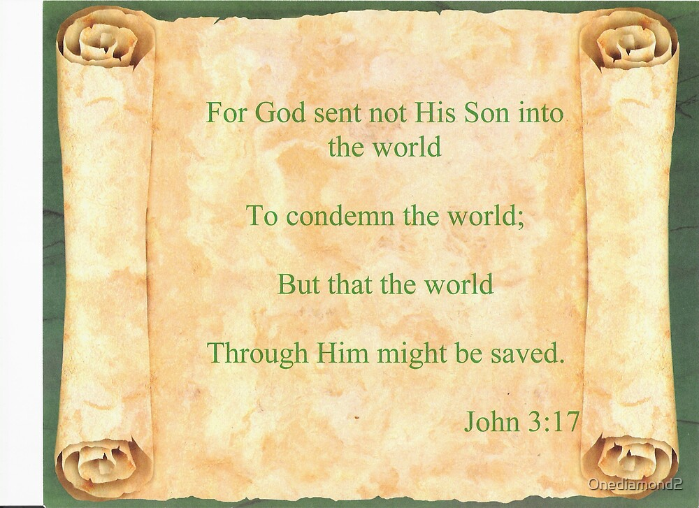 John 3:17 by Onediamond2