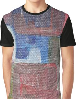 """Abstract Acrylic Painting """"Iridescent"""" Graphic T-Shirt"""