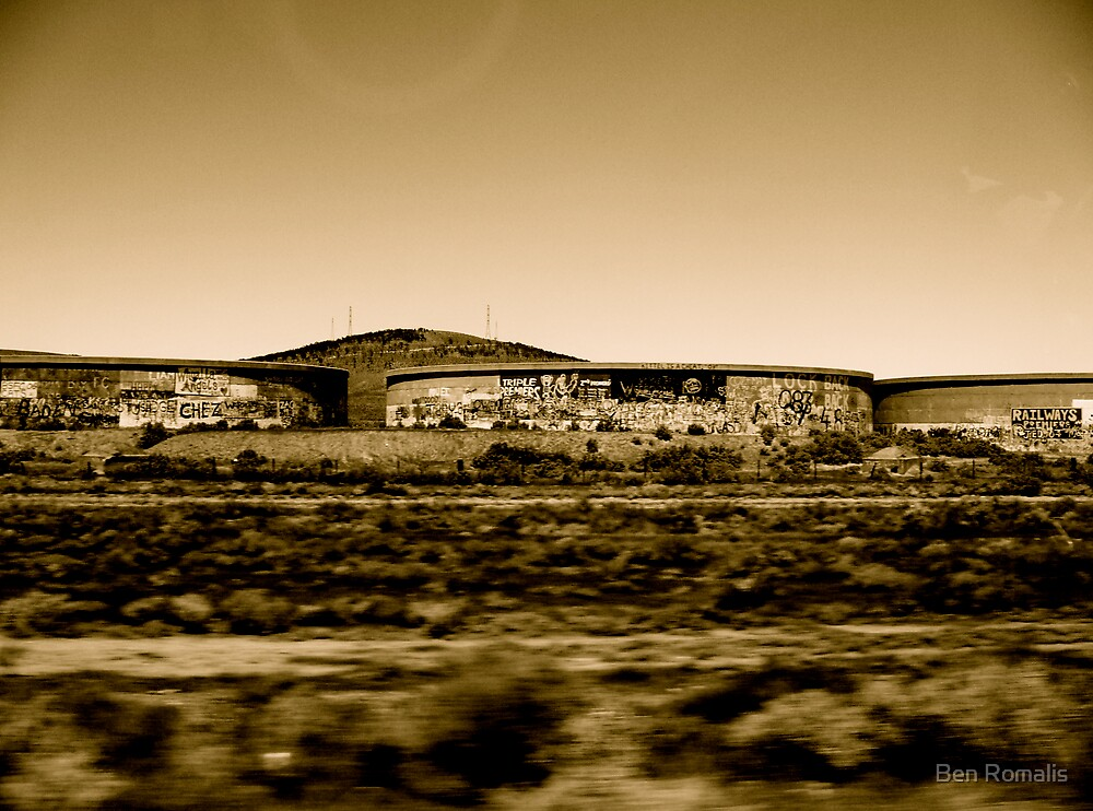 Across The Nullabor by Ben Romalis