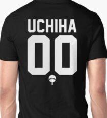 UCHIHA CLAN JERSEY (WHITE) Unisex T-Shirt
