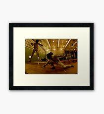 Australian National Fencing Tournament 2007, Perth WA Framed Print