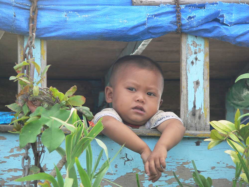 Boy in the Window by skyb