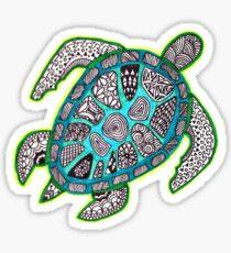 Turtle Zenart Sticker