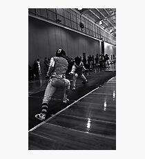 Australian National Fencing Tournament 2007, Perth WA Photographic Print
