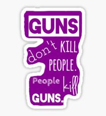 Guns Sticker
