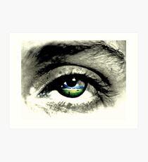 what eye see.  Art Print