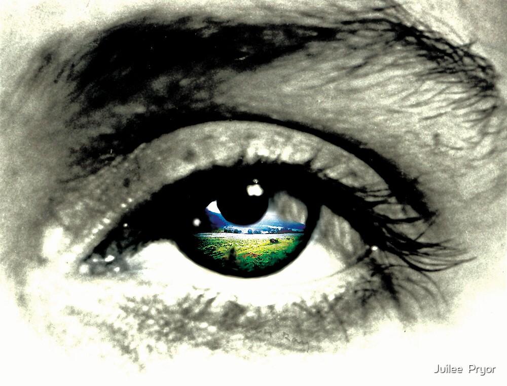 what eye see.  by Juilee  Pryor