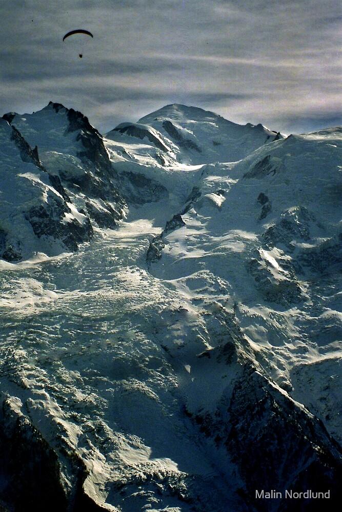 Mount Blanc by Malin Nordlund