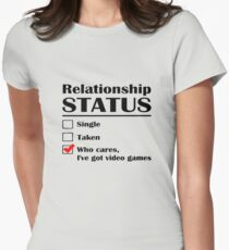 Relationship Status Video Games T-Shirt