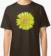 Bright and big yellow flower Classic T-Shirt