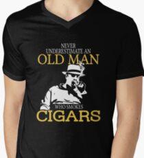 Cigars Degree Men's V-Neck T-Shirt