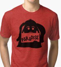 Paradise Elephant Tri-blend T-Shirt