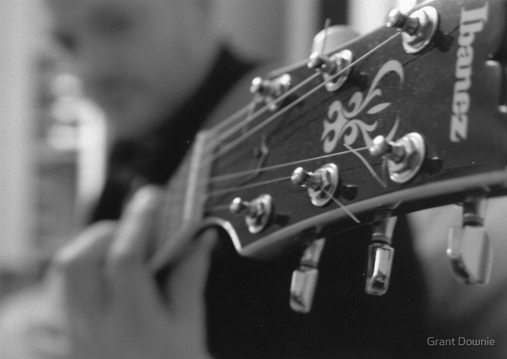 Guitar by Grant Downie