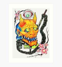 KEEPIN EM ON LOCK - OG Art Print