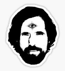 Duncan Trussell Third Eye Sticker