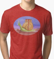 Slow and Steady Travels Tri-blend T-Shirt