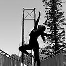 Ballet On A Bridge by Nigel Donald