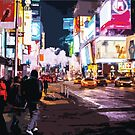 Colourful Times Square by xaidex