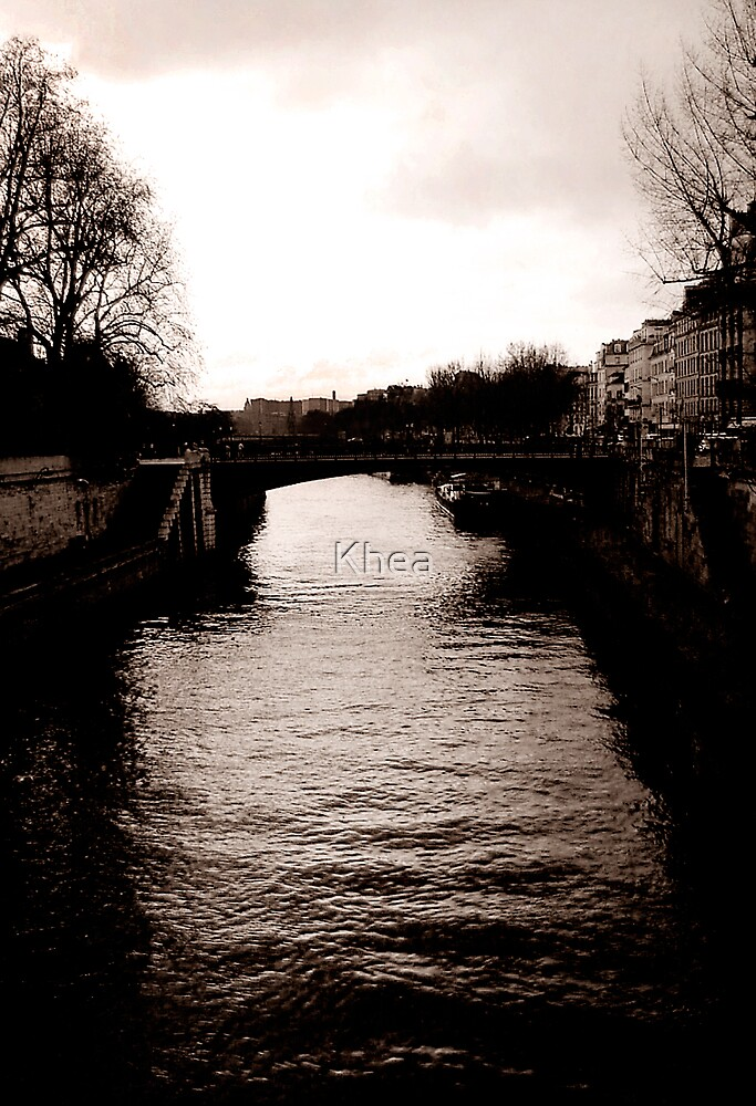 River Seine by Khea