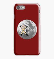 Saitama stuck on the moon iPhone Case/Skin
