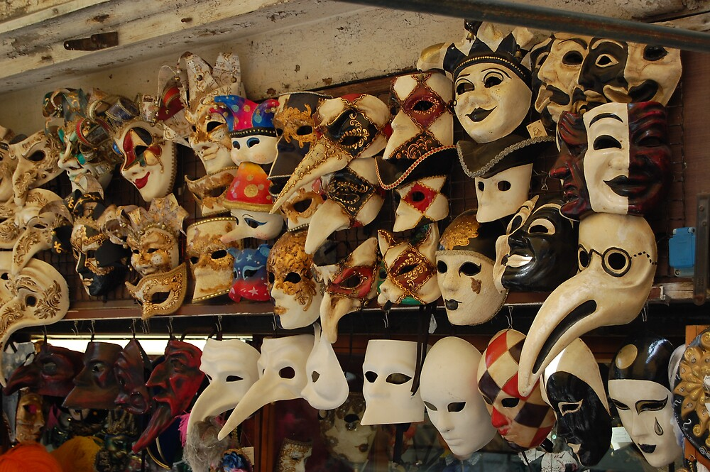 venice - masks by venkman