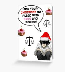 l - wishes Greeting Card