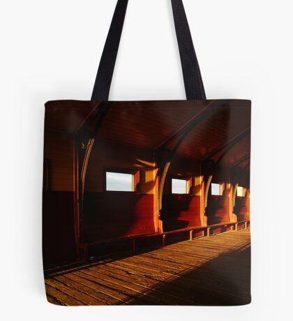 Queenscliff Pier Charm Tote Bag