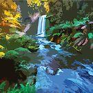 Nature's Stream by xaidex