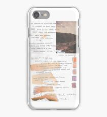 the 1975 loving someone/orange iPhone Case/Skin