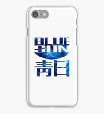 blue sun firefly iPhone Case/Skin