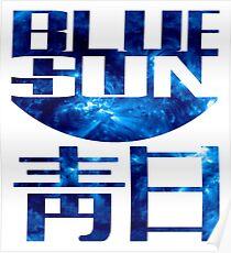 blue sun firefly Poster