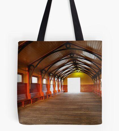Queenscliff Pier  Tote Bag