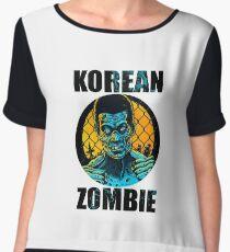 korean zombie Chiffon Top