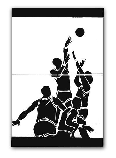 NBA basketball stars by studiohans