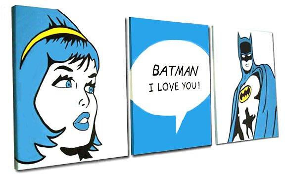 batman i love you by studiohans