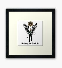 Battlestar Galactica - Starbuck - Bring On The Rain  Framed Print