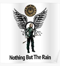 Battlestar Galactica - Starbuck - Bring On The Rain  Poster