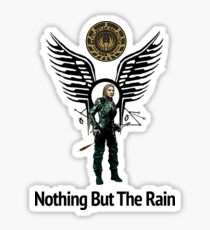 Battlestar Galactica - Starbuck - Bring On The Rain  Sticker