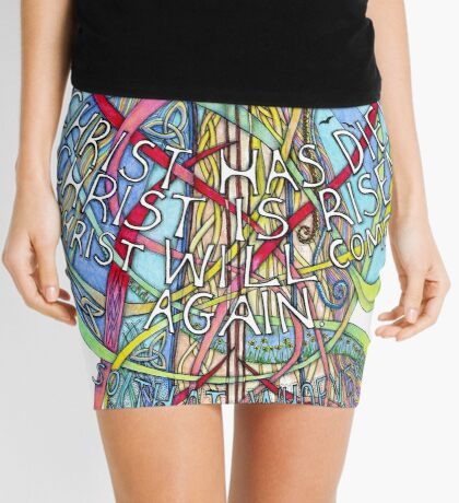 Christ is Risen Mini Skirt