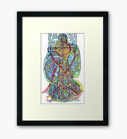 Christ is Risen Framed Print